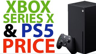 Xbox Series X And Ps5 PRICE Point! | Xbox Looks To COMPETE With Sony's PRICE