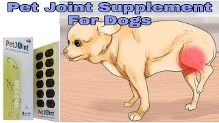 Pet Joint Supplement For Dogs || Pet Joint Tablets || Happypet