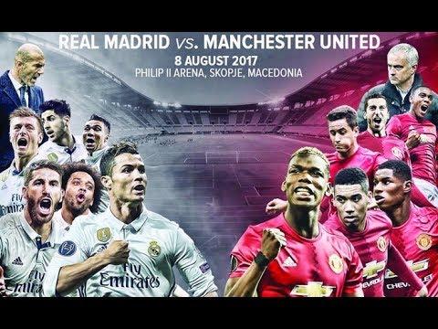 Real Madrid vs Man United | Super War Superstar - UEFA Super Cup 2017 | PES 2017