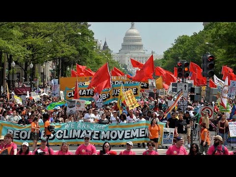 People's Climate March: A Protest Against the Fossil Fuel Industry Taking Over the U.S. Government