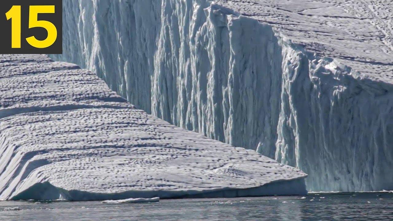 15 Huge Break offs from Glaciers!