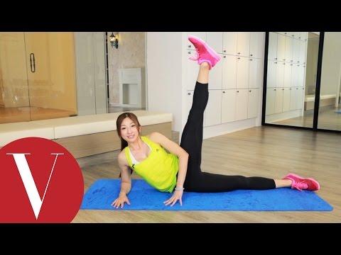 健身房 Annie老師分享3款瘦腿操教你練出美腿