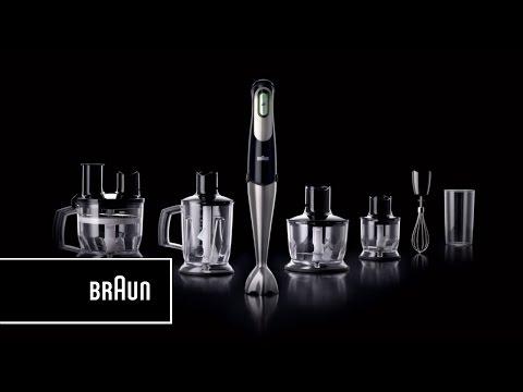 Black Braun MQ757 Multiquick 7 Hand Blender