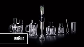 braun multiquick 7 hand blender one squeeze all speeds   introduction long version