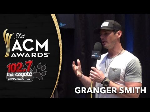 Granger Smith talks to 102.7 The Coyote at the ACM Awards
