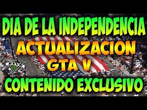 ACTUALIZACION 1 - 4 JULIO ! DIA DE LA INDEPENDENCIA EE UU / GTA V ONLINE GTA 5