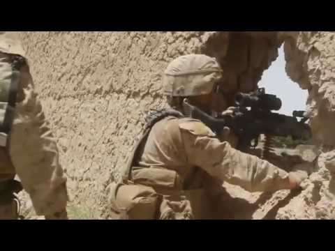 US Marines in Afghanistan Real Combat SEMPER