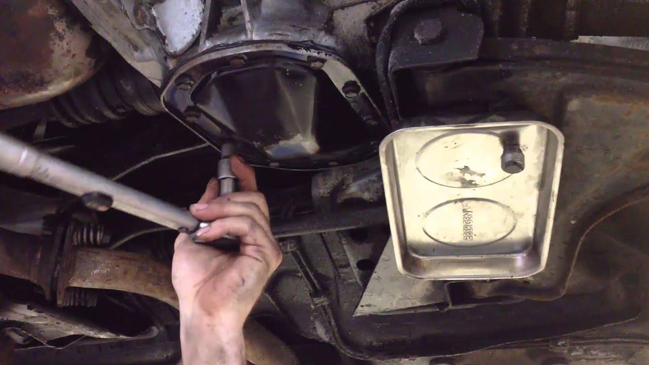 Opel F16 Getriebe Differential Abdichten 214 L Wechseln