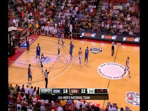 [HD] Kobe Bryant 4 Points vs Dominican Republic - Highlights 12/07/2012