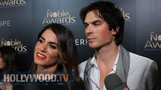 Ian Somerhalder and Nikki Reed honored  at the Noble Awards - Hollywood TV