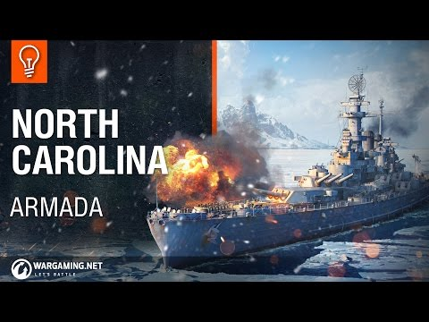World Of Warships - Armada: USS North Carolina