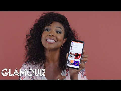 Gabrielle Union Shows Us the Last Thing on Her Phone | Glamour