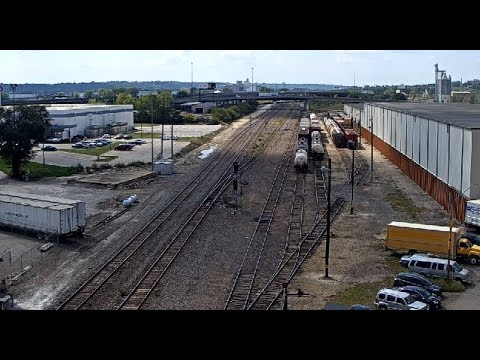 Kansas City, Missouri USA - Virtual Railfan LIVE - 동영상