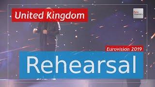 Michael Rice - Bigger Than Us - Eurovision 2019 United Kingdom (Rehearsal)