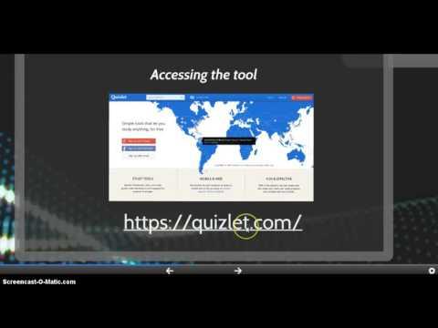 Quizlet Screencast
