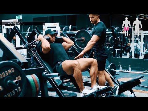 Savage Leg Workout - Mike Thurston & Justin St Paul