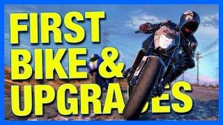 MY FIRST BIKE & UPGRADES!! - Moto Racer 4 Gameplay
