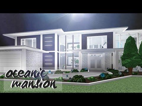 Bloxburg Oceanic Mansion 72k Youtube