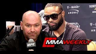 Dana White Buries Tyron Woodley: 'People Don't Want to Watch You Fight'