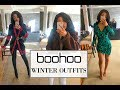 LOOK EXPENSIVE & BOUGIE ON A BUDGET - BOOHOO (7 WINTER OUTFITS)