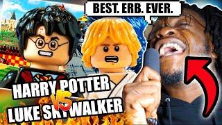 Harry Potter vs Luke Skywalker. Epic Rap Battles Of History (REACTION)