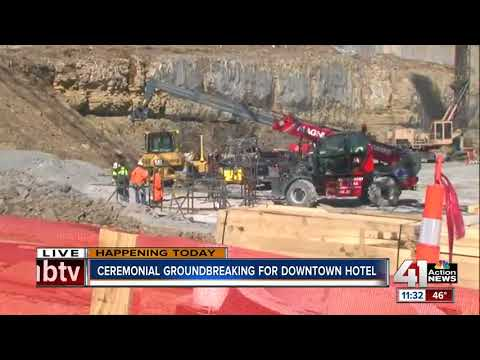 Loews Hotel breaks ground for convention center hotel