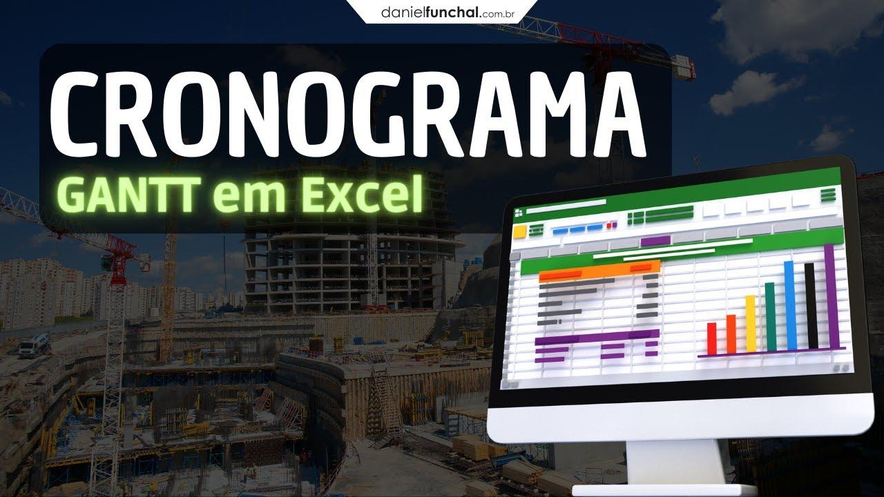 Cronograma Em Excel Para Obras E Projetos