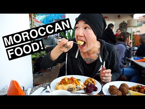 BEST MEAL OF MY LIFE! Trying Moroccan Food In Marrakesh | Ep. 3