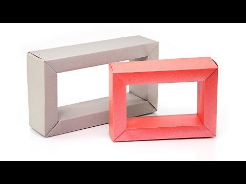 origami-rectangular-photo-frame-tutorial---paper-kawaii
