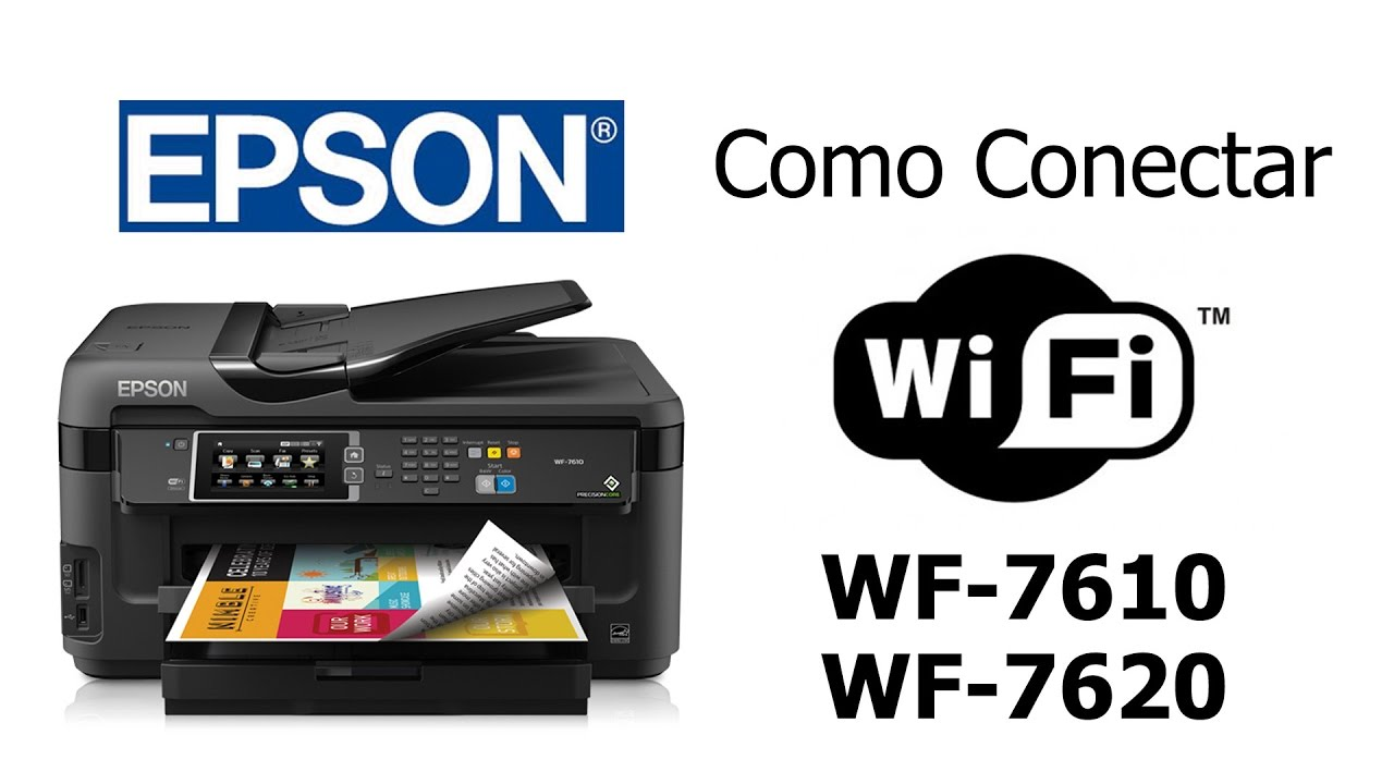 Como Conectar A Multifuncional Epson Wf-7610  Wf-7620 No Wi-fi