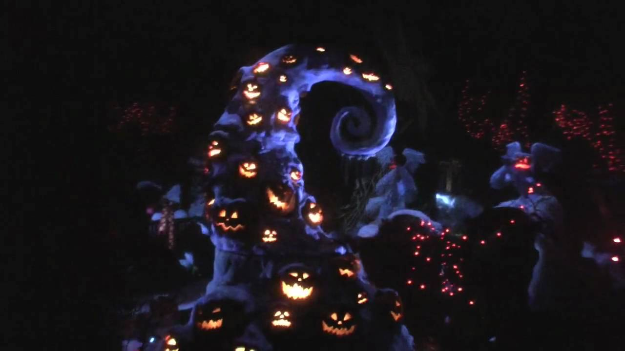 Haunted Mansion Meets A Nightmare Before Christmas - HD - YouTube