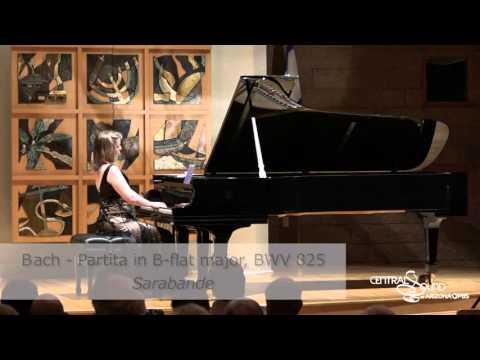 Orli Shaham performs Bach: Partita in B-flat major, BWV 825