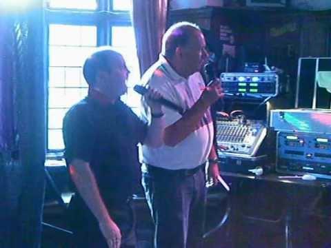 John and Rob singing Snooker Loopy