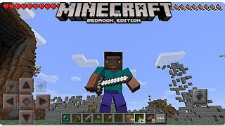 Minecraft PE 2.0 | BETTER ANIMATIONS IN MCPE 2.0!! + GAMEPLAY!! (Pocket Edition) [Concept]