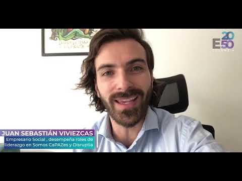 """E2050 COLOMBIA - """"Unidos por la Resiliencia Climática"""" JUAN SEBASTIÁN VIVIEZCAS"""