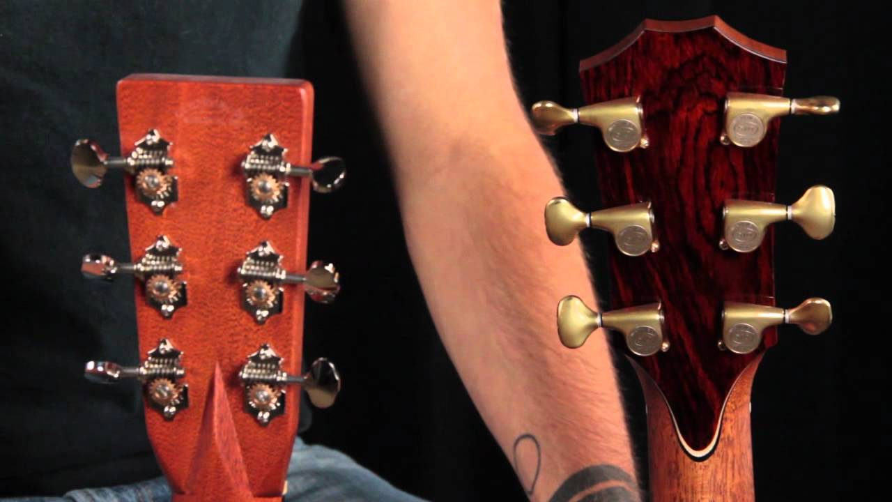 Guitar Tuners - Acoustic Guitar Anatomy - YouTube