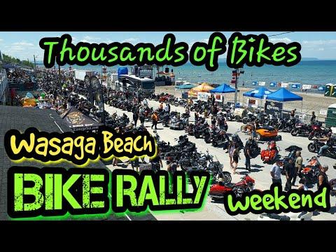 Wasaga Beach Bike Rally 2017  Ontario, Canada  CBR600RR