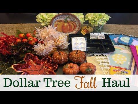 DOLLAR TREE HAUL | Fall Collection 2017 | pt 2