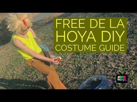 Free de la Hoya DIY Costume Guide