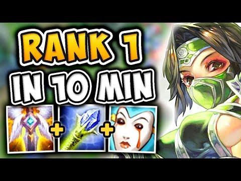 RANK 1 CHALLENGER AKALI GUIDE! SEASON 7 AKALI  BUILD IN 10 MINUTES! - League of Legends
