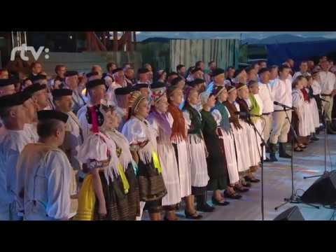 Slovenská hymna v podaní finalistov Zem spieva vo Východnej