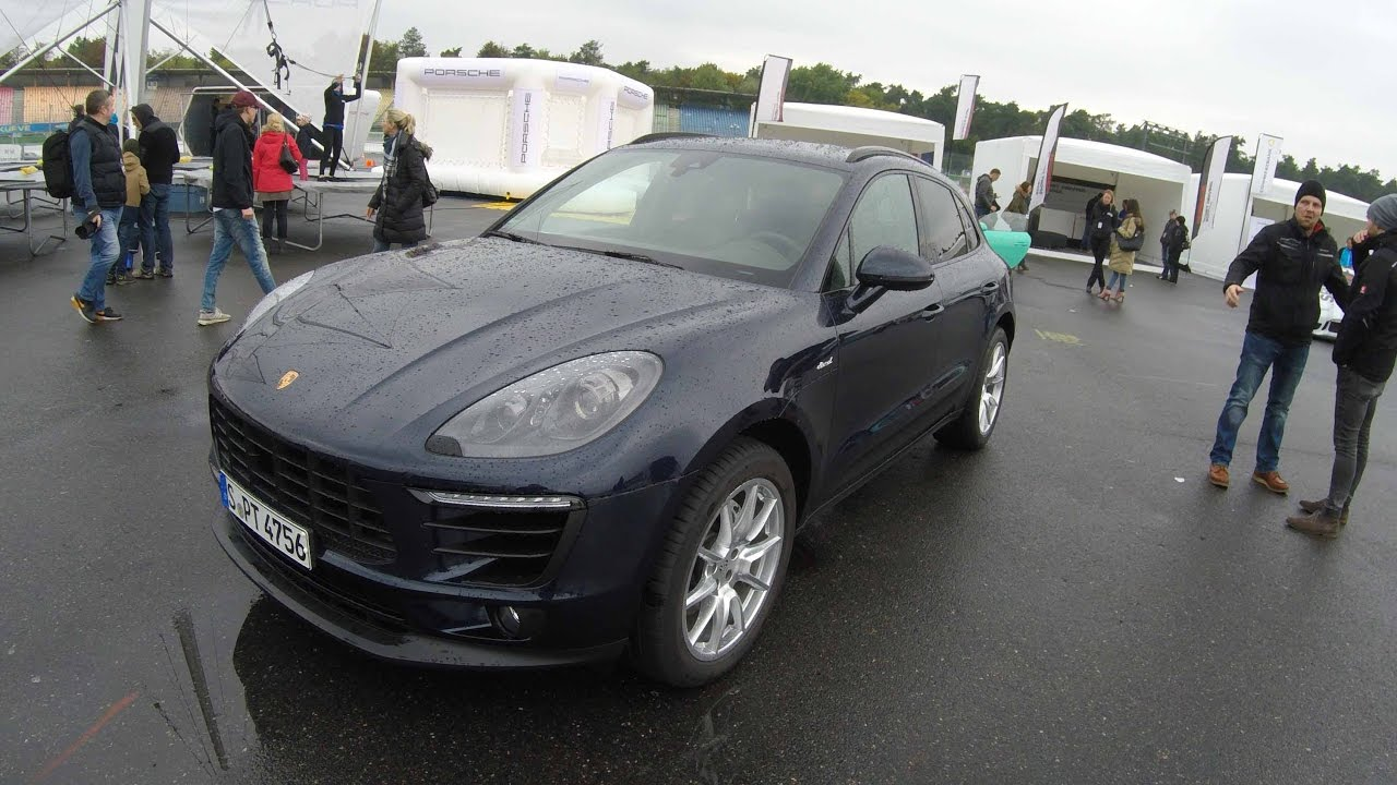 Porsche Macan S Diesel Dark Blue Colour Walkaround Youtube