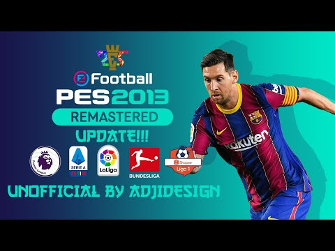 PES 2013 Release Remastered 2.1 update season 2020/21