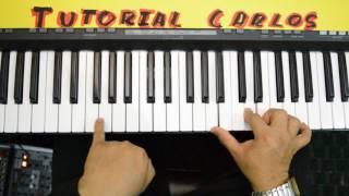 Voy cantando Conquistando Fronteras - Tutorial Piano Carlos