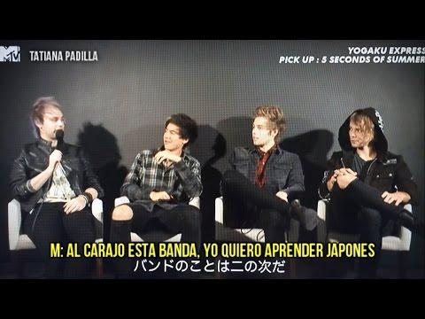 5 Seconds Of Summer - YOGAKU EXPRESS(interview) (sub español)
