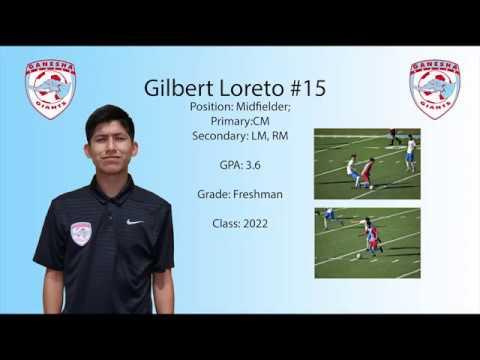 Gilbert Loreto Freshman Year Highlights Ganesha High School Class of 2022