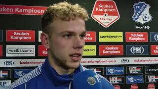 Reactie van Luuk Brouwers na het duel met FC Eindhoven