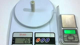 Kitchen Scale SF-400 - How Accurate ??