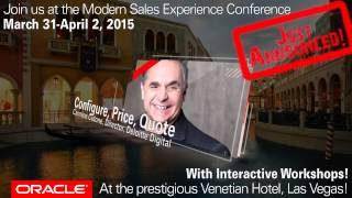 Modern Sales Experience Conference - Workshop And Panel Announcement