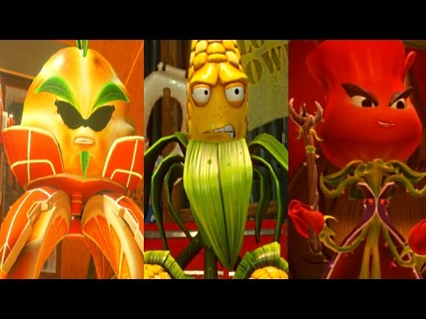 Pvz Garden Warfare 2 All Plants Hero Missions Citron Corn Rose Story Mode Asurekazani